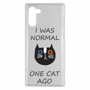 Samsung Note 10 Case I was normal one cat ago