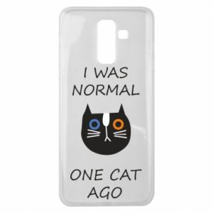 Samsung J8 2018 Case I was normal one cat ago