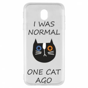 Samsung J7 2017 Case I was normal one cat ago