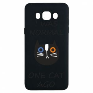 Samsung J7 2016 Case I was normal one cat ago