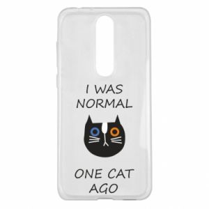 Etui na Nokia 5.1 Plus I was normal one cat ago