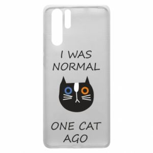 Huawei P30 Pro Case I was normal one cat ago
