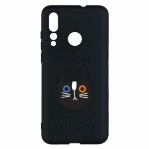 Huawei Nova 4 Case I was normal one cat ago