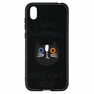 Huawei Y5 2019 Case I was normal one cat ago