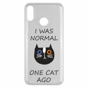 Huawei Y9 2019 Case I was normal one cat ago