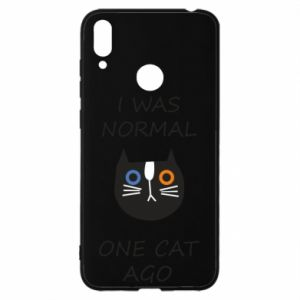 Huawei Y7 2019 Case I was normal one cat ago