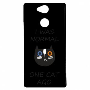 Sony Xperia XA2 Case I was normal one cat ago