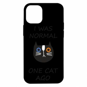iPhone 12 Mini Case I was normal one cat ago