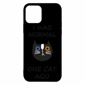 iPhone 12/12 Pro Case I was normal one cat ago