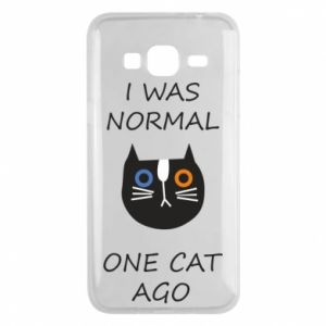 Etui na Samsung J3 2016 I was normal one cat ago