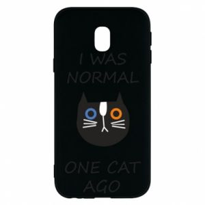 Etui na Samsung J3 2017 I was normal one cat ago