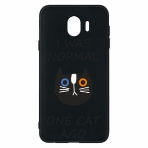 Etui na Samsung J4 I was normal one cat ago