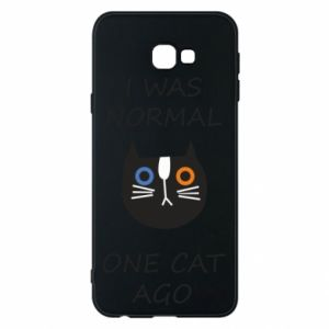 Etui na Samsung J4 Plus 2018 I was normal one cat ago