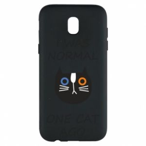 Etui na Samsung J5 2017 I was normal one cat ago