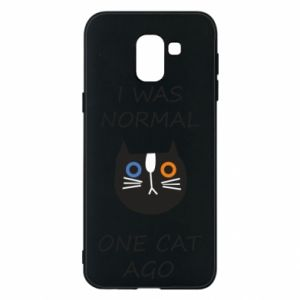 Etui na Samsung J6 I was normal one cat ago