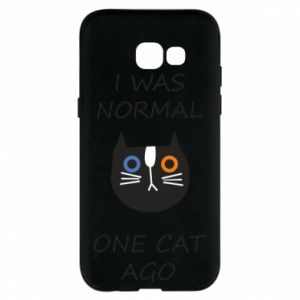 Etui na Samsung A5 2017 I was normal one cat ago