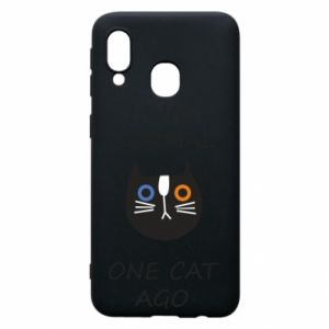 Etui na Samsung A40 I was normal one cat ago
