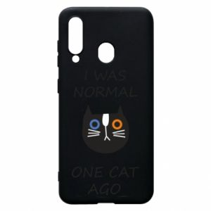 Etui na Samsung A60 I was normal one cat ago