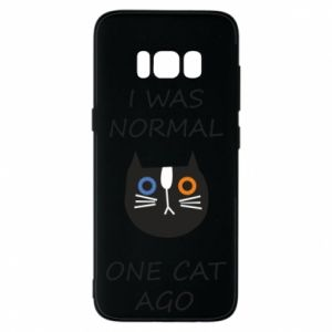 Etui na Samsung S8 I was normal one cat ago