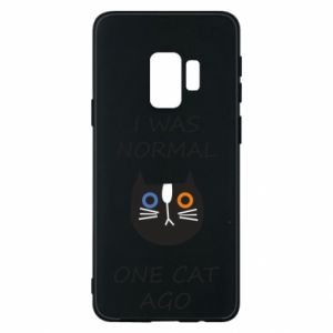 Etui na Samsung S9 I was normal one cat ago