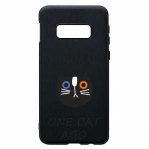 Etui na Samsung S10e I was normal one cat ago