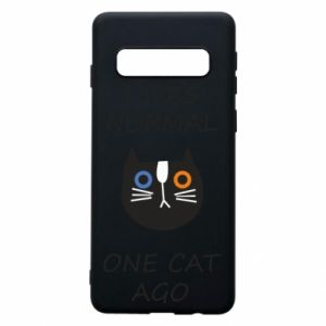 Etui na Samsung S10 I was normal one cat ago