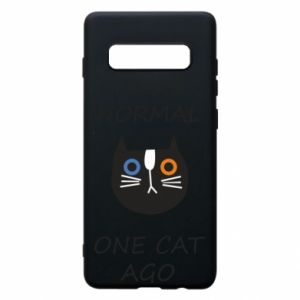 Etui na Samsung S10+ I was normal one cat ago