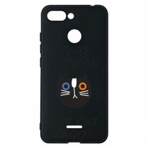 Etui na Xiaomi Redmi 6 I was normal one cat ago
