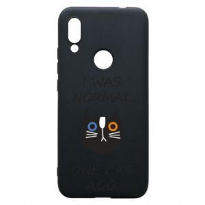 Etui na Xiaomi Redmi 7 I was normal one cat ago