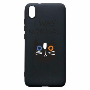 Etui na Xiaomi Redmi 7A I was normal one cat ago