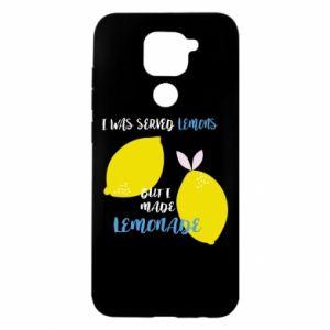 Etui na Xiaomi Redmi Note 9/Redmi 10X I was served lemons but i made lemonade