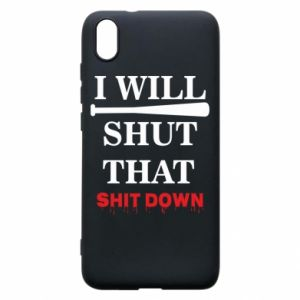 Etui na Xiaomi Redmi 7A I will shut that shit down
