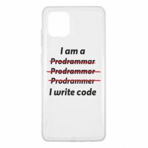 Etui na Samsung Note 10 Lite I write code