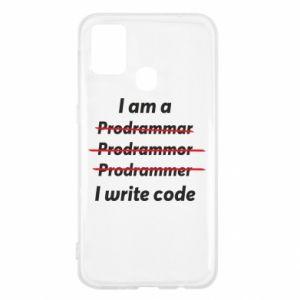 Etui na Samsung M31 I write code
