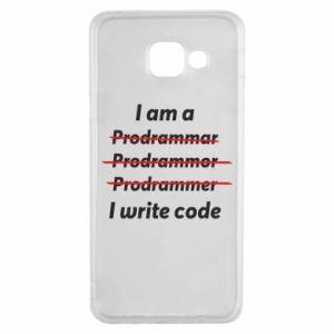Etui na Samsung A3 2016 I write code