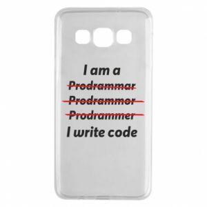 Etui na Samsung A3 2015 I write code