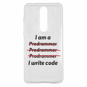 Etui na Nokia 5.1 Plus I write code