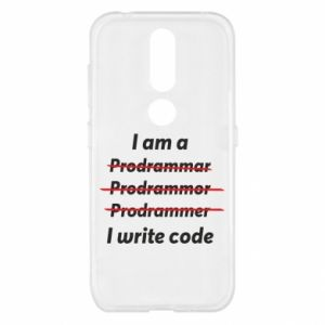 Etui na Nokia 4.2 I write code