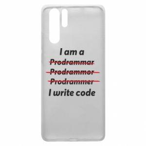 Etui na Huawei P30 Pro I write code
