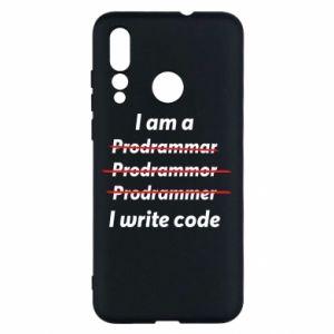 Etui na Huawei Nova 4 I write code