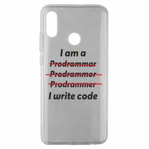 Etui na Huawei Honor 10 Lite I write code