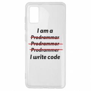 Etui na Samsung A41 I write code