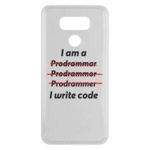 Etui na LG G6 I write code