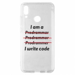 Etui na Huawei P Smart 2019 I write code