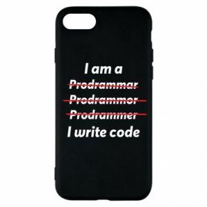 Etui na iPhone SE 2020 I write code