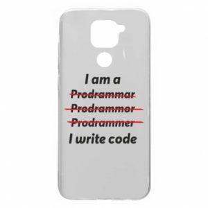 Etui na Xiaomi Redmi Note 9/Redmi 10X I write code