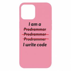 Etui na iPhone 12 Pro Max I write code