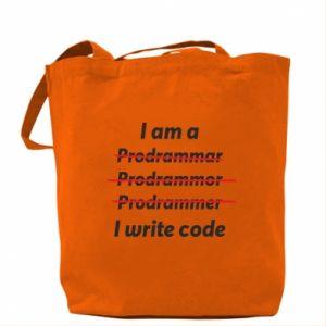 Bag I write code