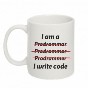Kubek 330ml I write code
