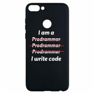 Phone case for Huawei P Smart I write code